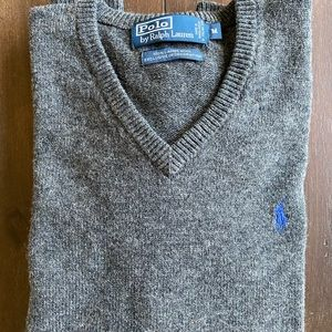 NWOT Ralph Lauren men's lambs wool sweater